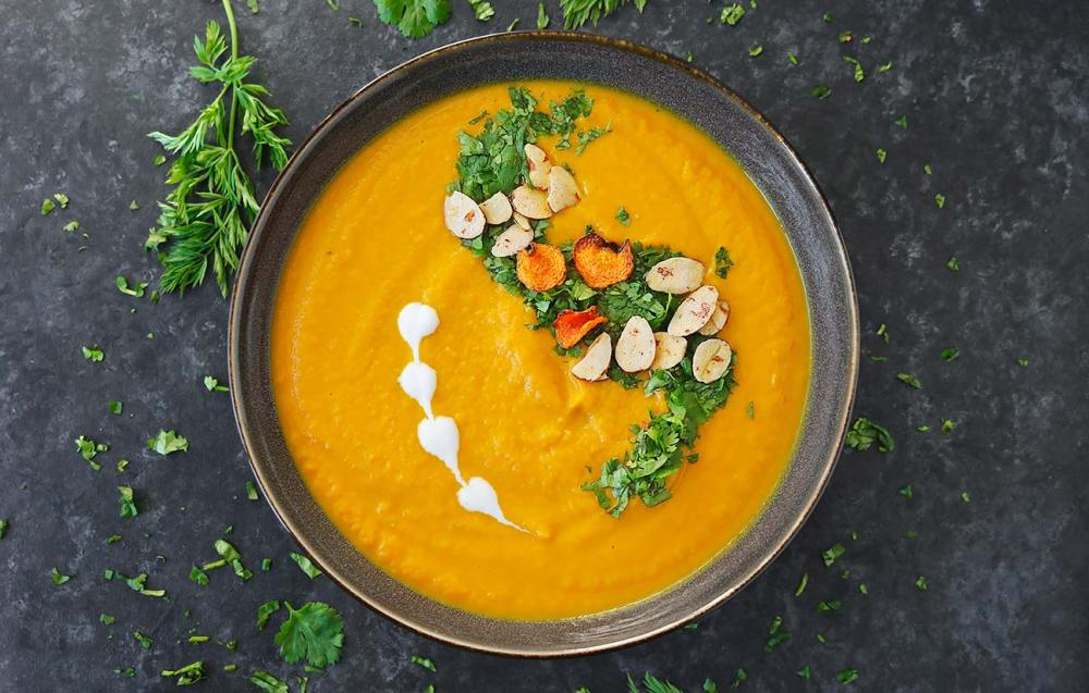 26 Creative and Delicious Turmeric Recipes: Carrot Turmeric Miso Soup