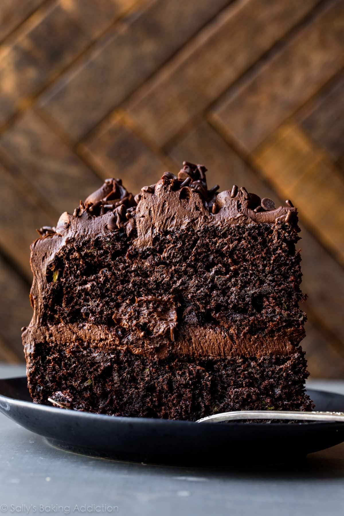 25 Drool-Worthy Chocolate Cake Recipes: Chocolate Zucchini Cake