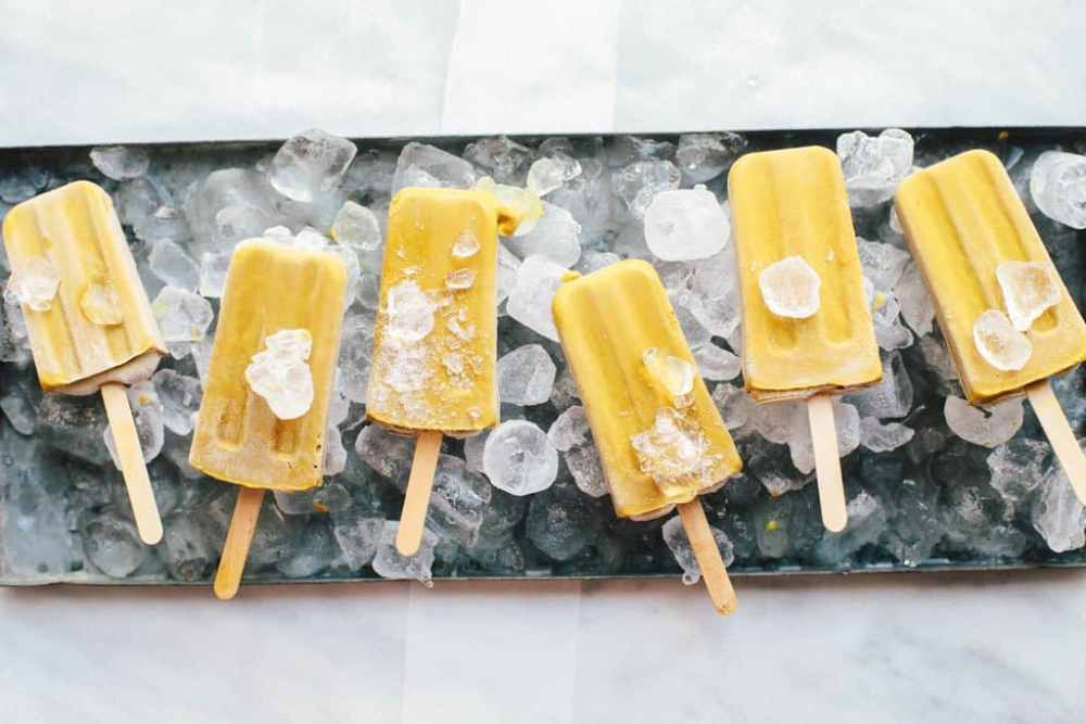 26 Creative and Delicious Turmeric Recipes: Dairy-Free Golden Fudgesicles