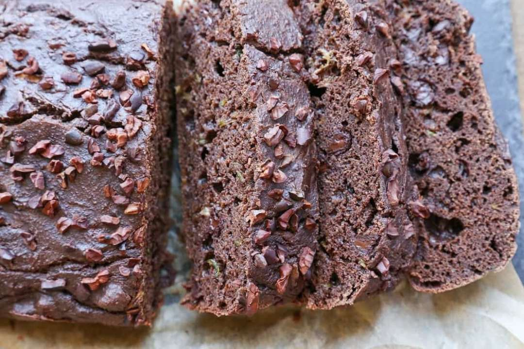 18 Zucchini Bread Recipes Everyone Will Love: Double Chocolate Paleo Zucchini Bread