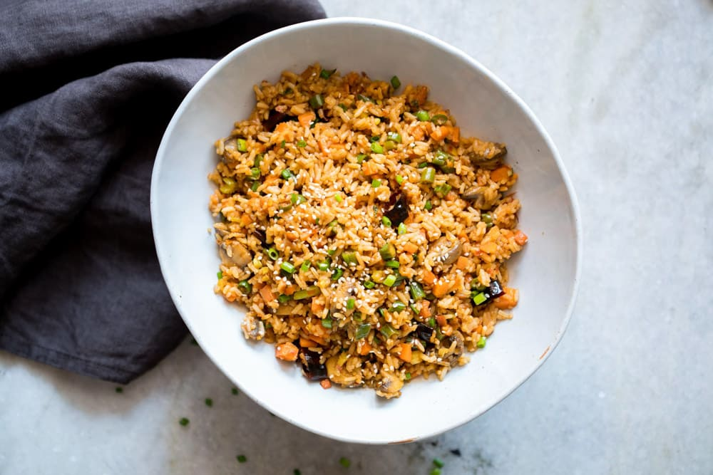 18 Best Easy Vegetarian Recipes: Schezwan Fried Rice