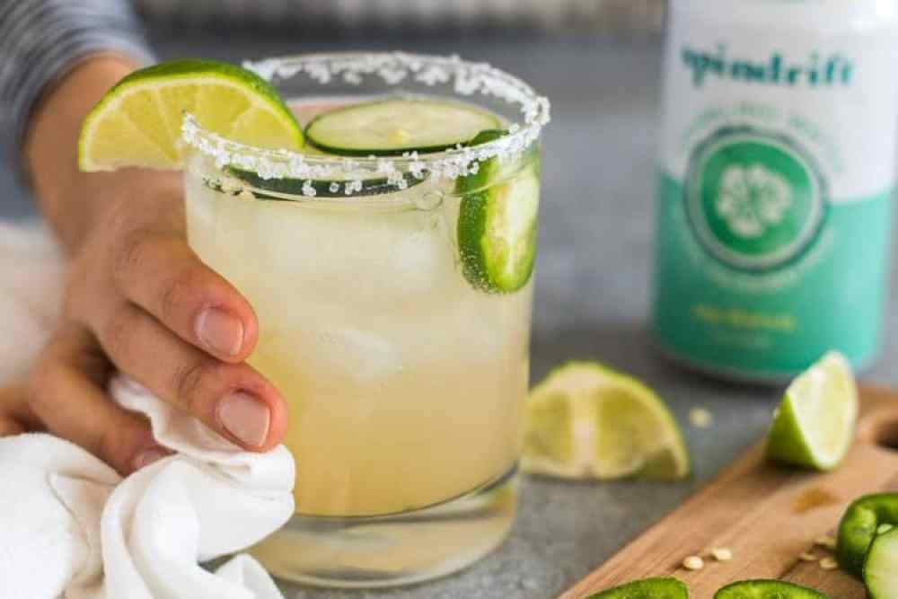 15 Refreshing Margarita Recipes to Cool You Down This Summer: Cucumber Jalapeño Margarita
