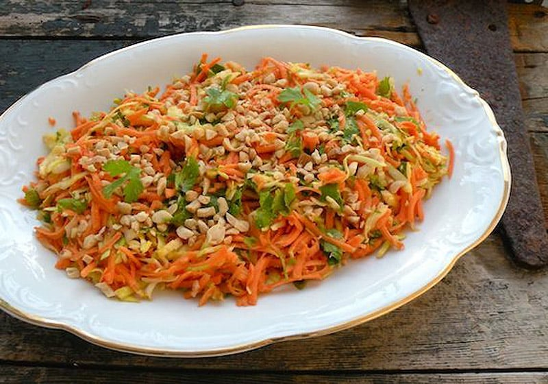 15 Coleslaw Recipes to Make This Summer: Raw Sweet Potato and Cabbage Salad with Coconut-Lime Dressing