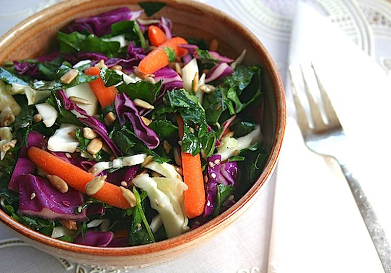 15 Coleslaw Recipes to Make This Summer: Tri-Color Coleslaw