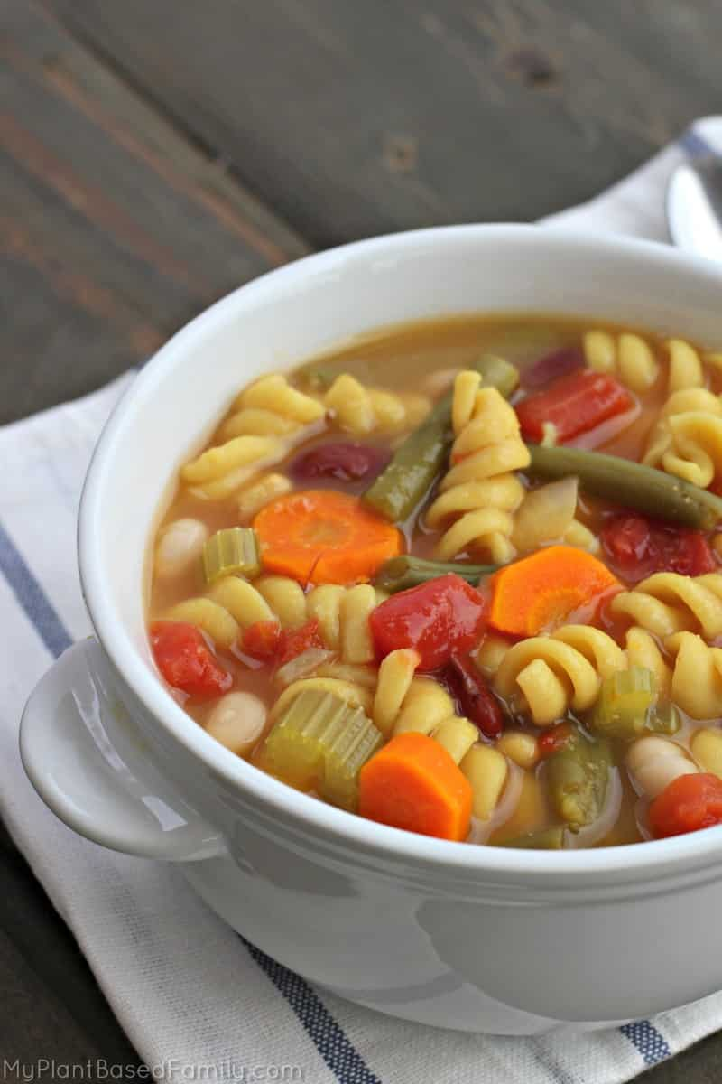 15 Delicious Minestrone Soup Recipes: Instant Pot Minestrone