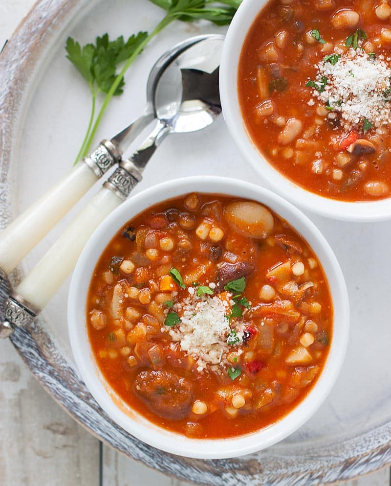 15 Delicious Minestrone Soup Recipes: Sardinian Longevity Minestrone Soup
