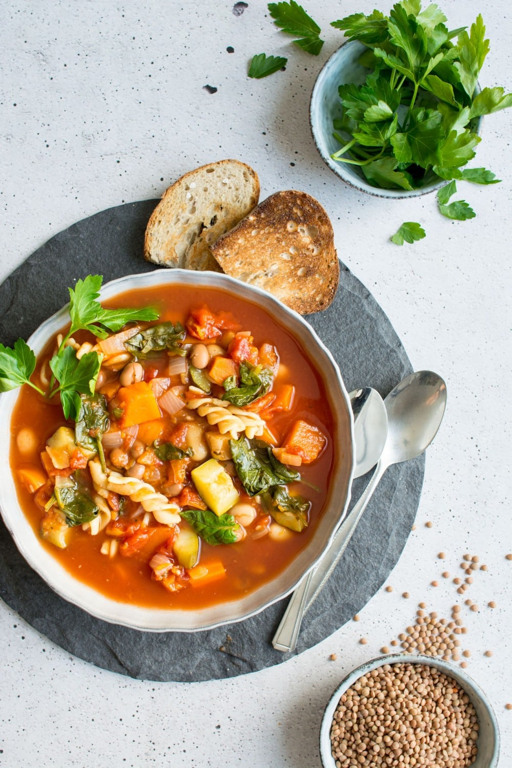 15 Delicious Minestrone Soup Recipes: Winter Vegetable Minestrone Soup