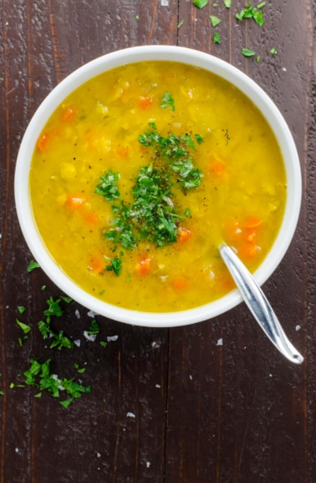 17 Cozy Split Pea Soup Recipes to Try This Fall: Easy Vegan Split Pea Soup
