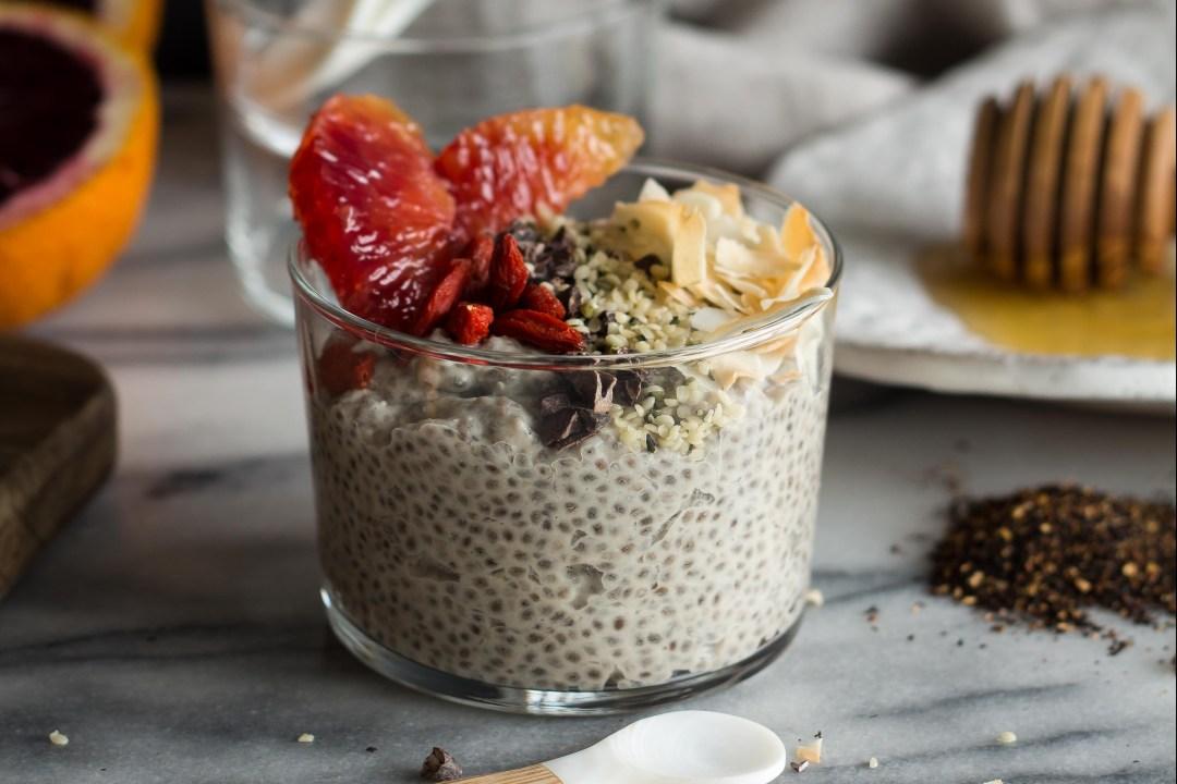 18 Chia Seed Pudding Recipes Everyone Will Love: Coconut Chai Chia Pudding