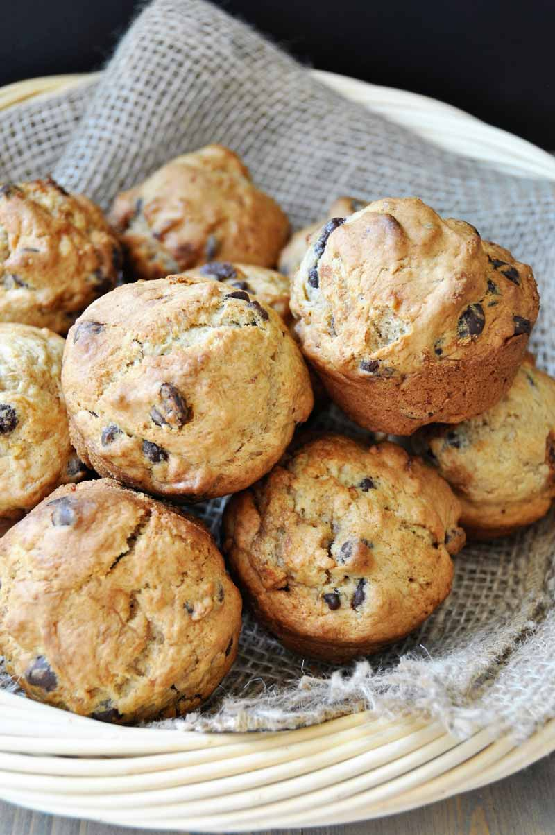 Best Vegetarian Freezer Cooking Breakfasts to Start Your Day Right: Chocolate Chip Banana Bread Muffins