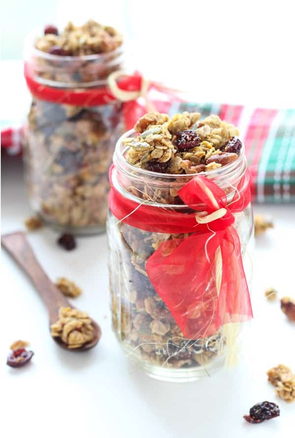 18 Irresistible Recipes for Homemade Granola: Cranberry Orange Pecan Granola