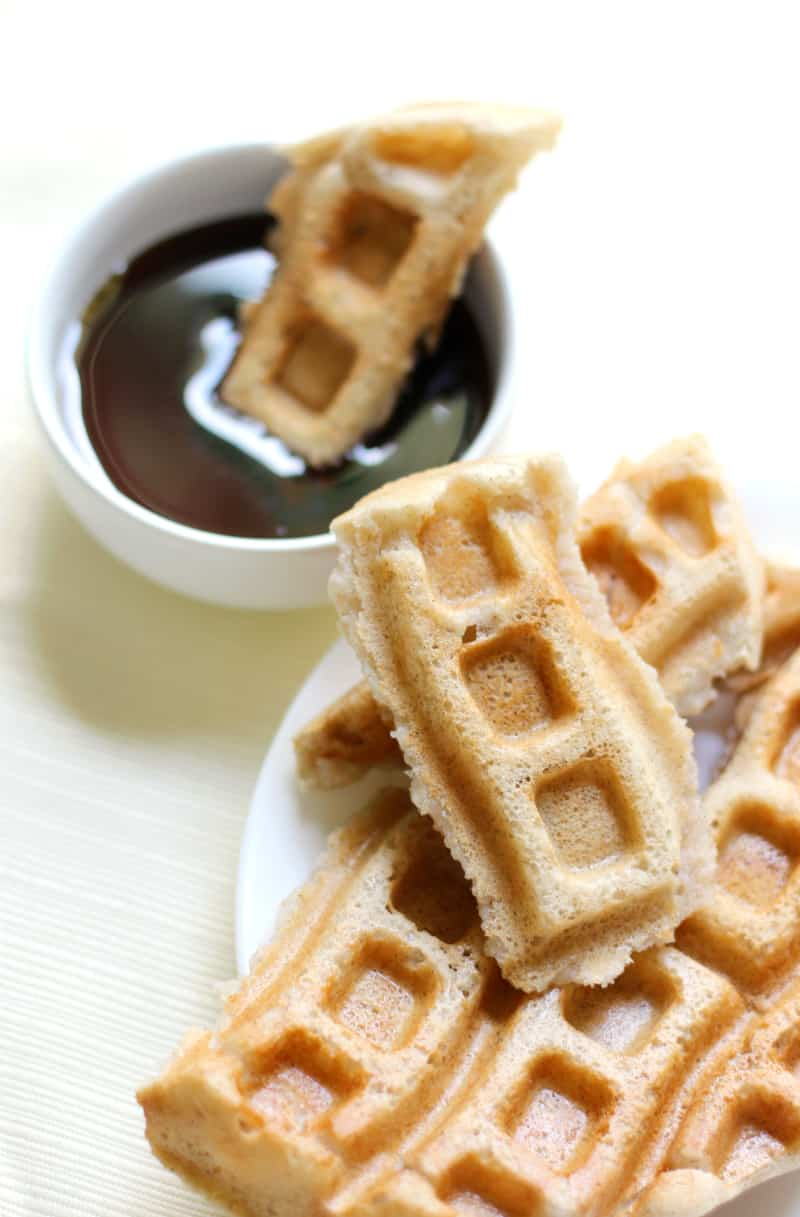 Best Vegetarian Freezer Cooking Breakfasts to Start Your Day Right: Applesauce Waffle Dippables