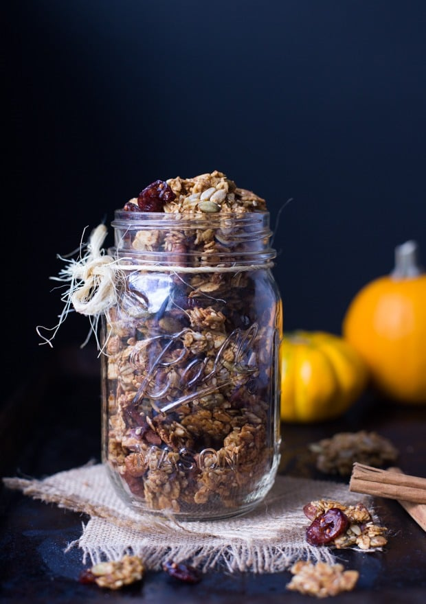 18 Irresistible Recipes for Homemade Granola: Pumpkin Spice Granola