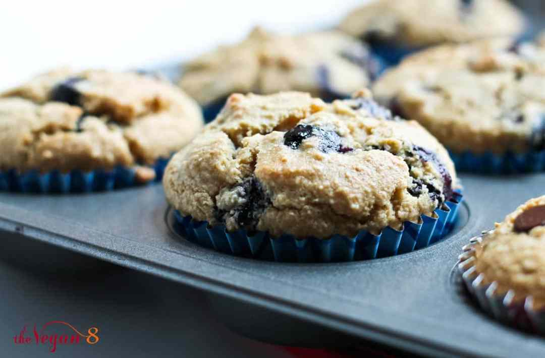 Best Vegetarian Freezer Cooking Breakfasts to Start Your Day Right: Blueberry Vanilla Muffins