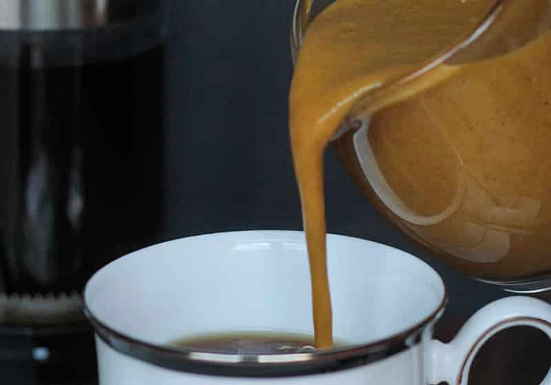 15 Creamy & Dreamy Vegan Coffee Creamer Recipes: Pumpkin Spice Coffee Creamer