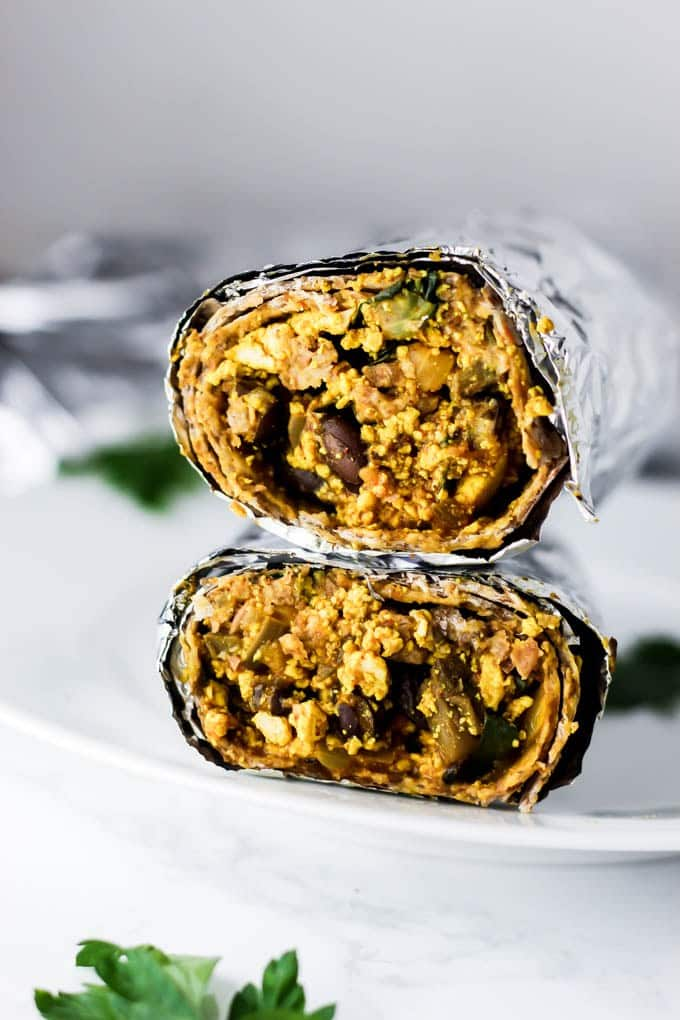 Best Vegetarian Freezer Cooking Breakfasts to Start Your Day Right: Freezer Vegan Breakfast Burritos
