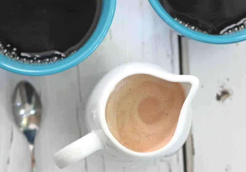 Creamy & Dreamy Vegan Coffee Creamer Recipes: Snickers Coffee Creamer