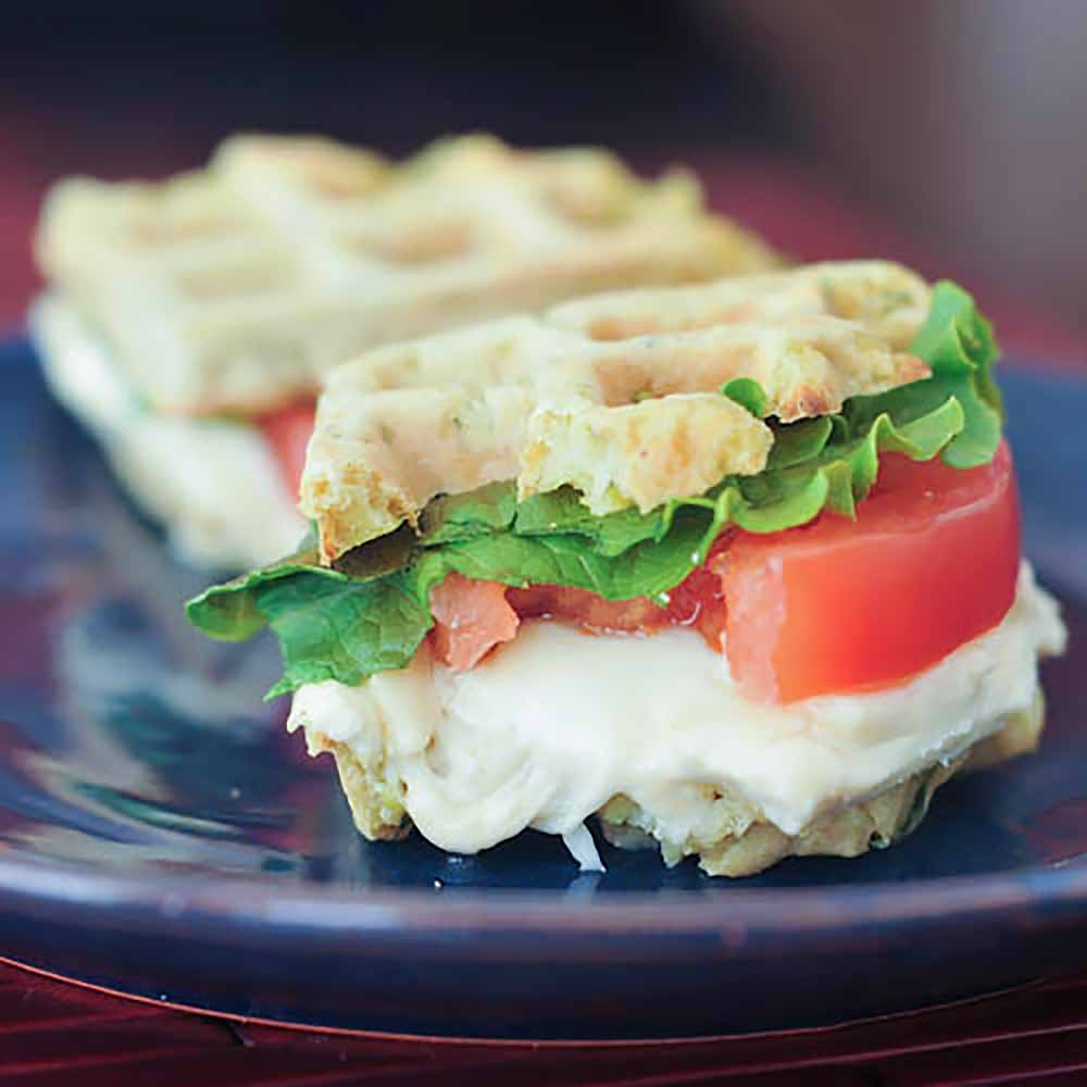 21 Mind-Blowing Grilled Cheese Sandwich Recipes: Grilled Cheese Wafflewich Sliders