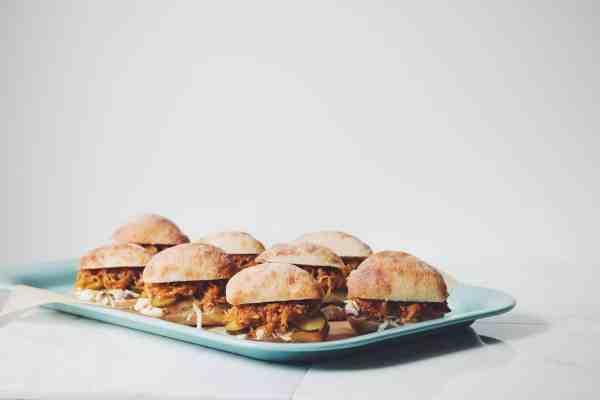 32 Creative Spaghetti Squash Recipes: Pulled BBQ Spaghetti Squash Sliders