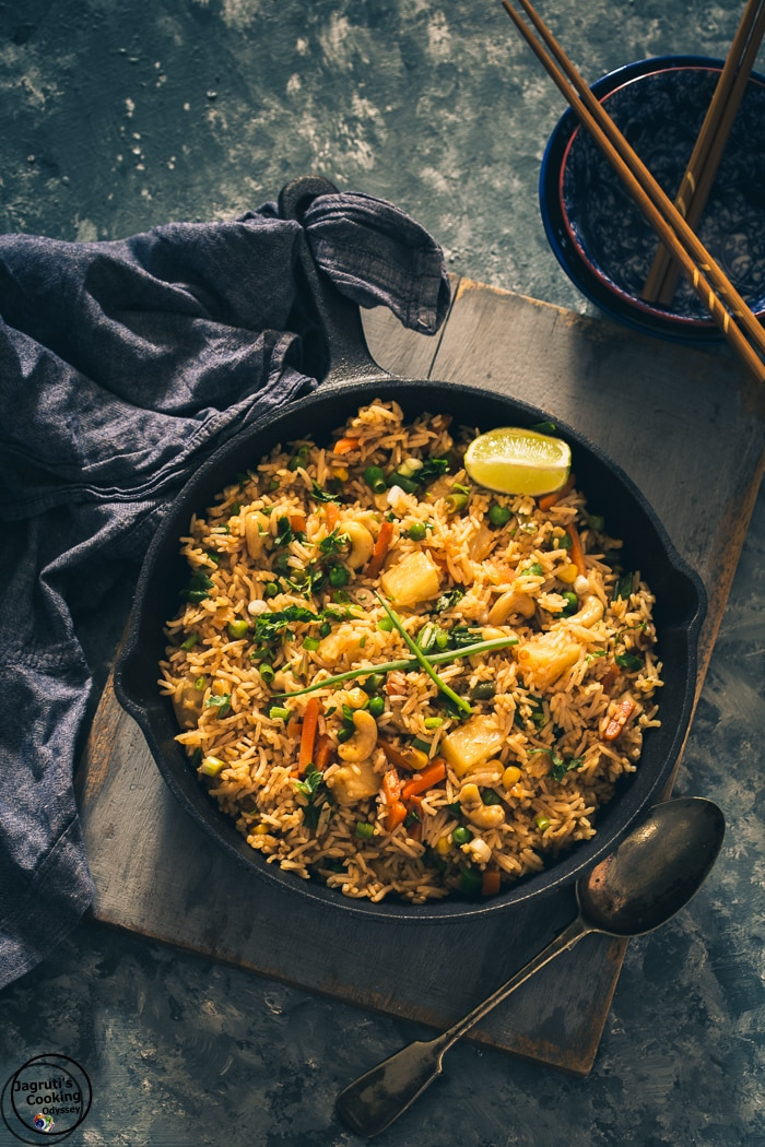 how to make thai fried rice at home