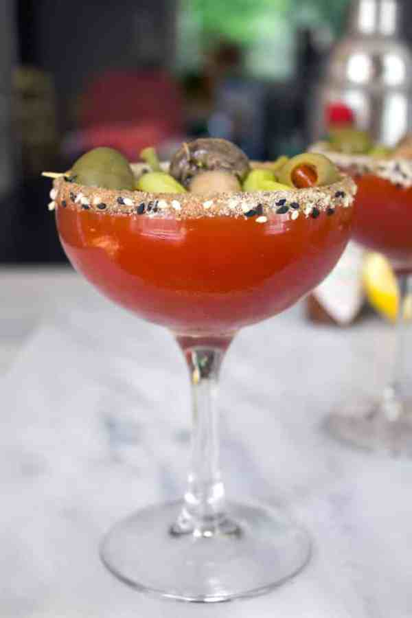 10 Bloody Mary Recipes to Serve at Your Next Brunch | Manhattan Dirty Bloody Mary
