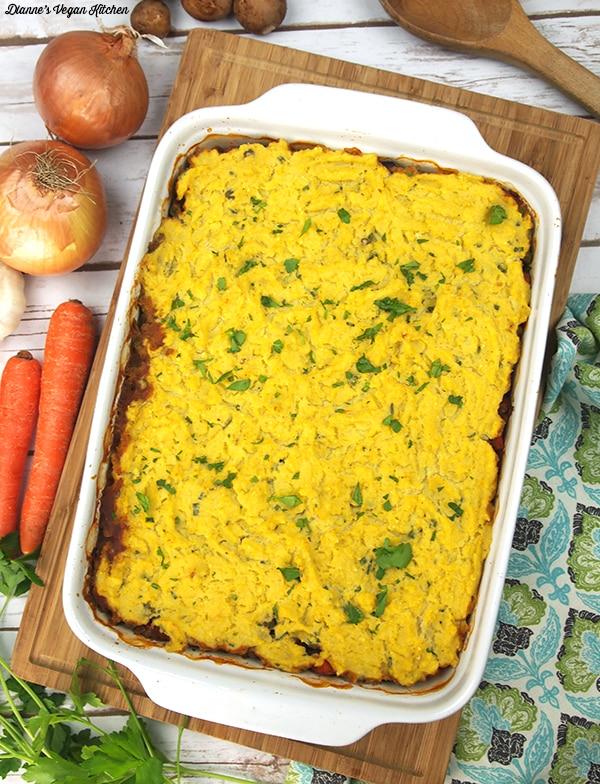 Millet Recipes - Vegan Shepherd's Pie