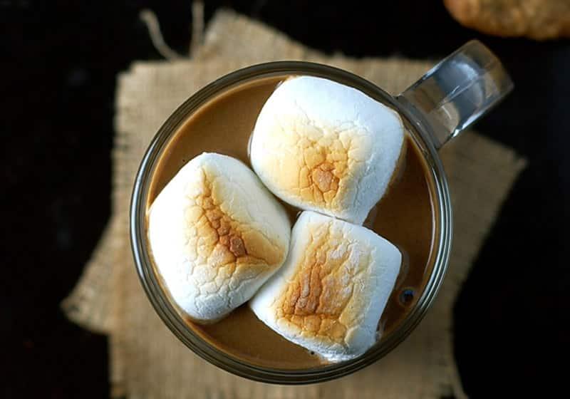15 Vegan Hot Chocolate Recipes Everyone Will Love: Sweet Potato Hot Chocolate