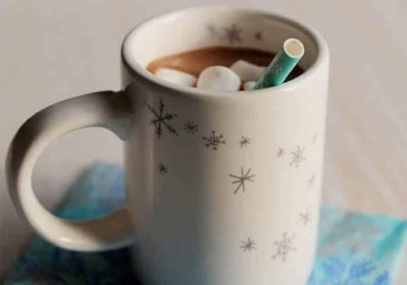 15 Vegan Hot Chocolate Recipes Everyone Will Love: Christmas Hot Chocolate