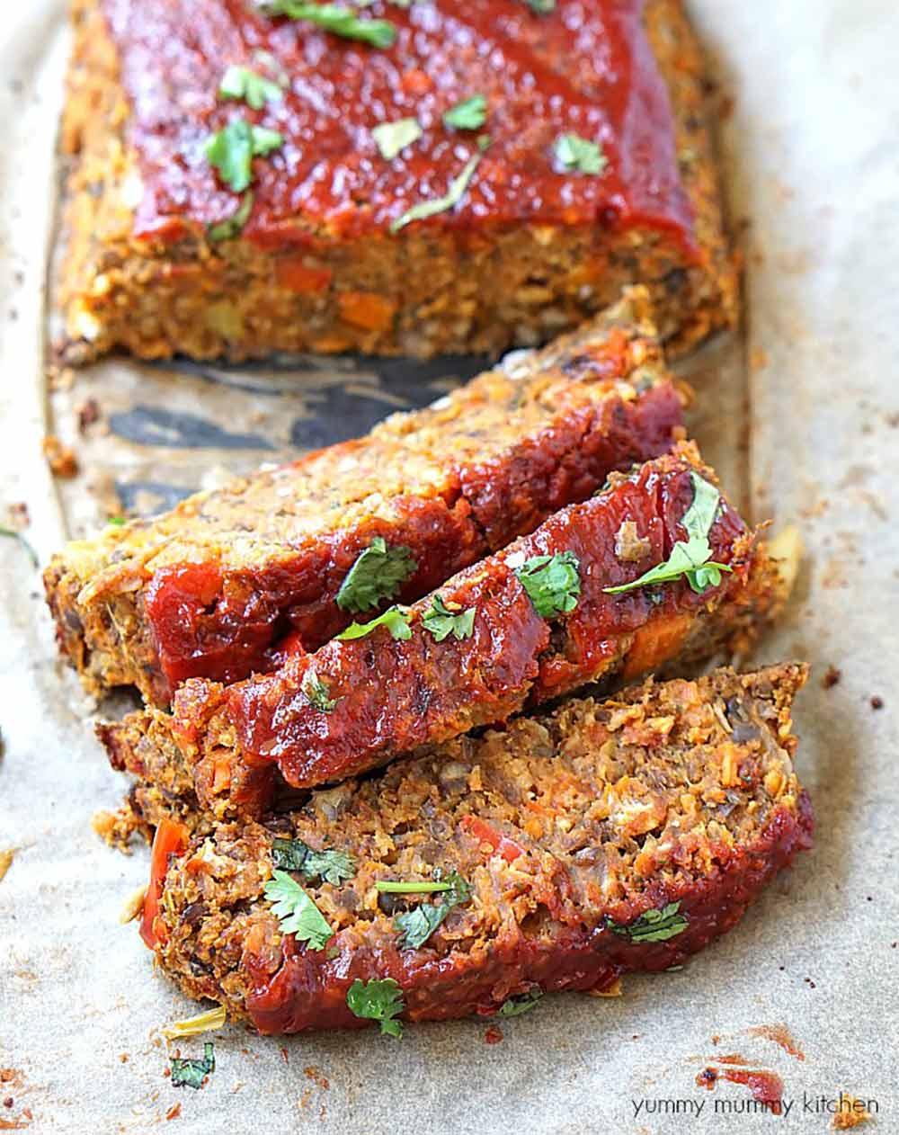 19 Recipes that Swap Lentils for Meat: Vegan Lentil Loaf