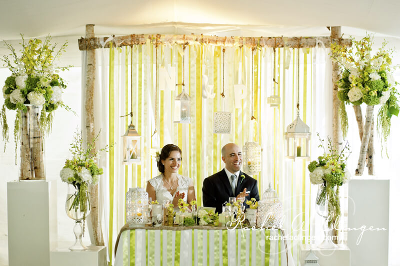 13 stunning wedding backdrops