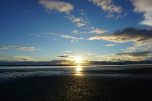 Sonnenuntergang af Jackett Island - ein Ort absoluter Ruhe und Entspannung.