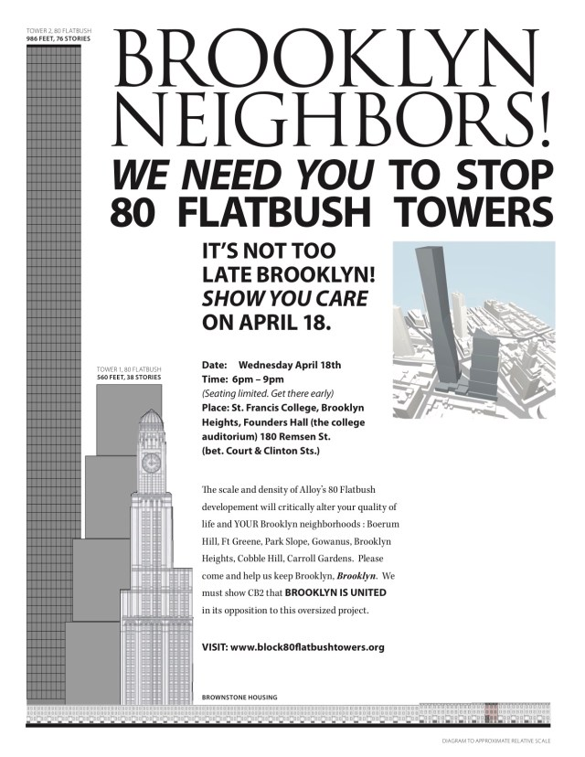 Brooklyn Neighbors Stop 80 Flatbush Flyer