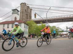 Five Boro Bike Tour race 2018
