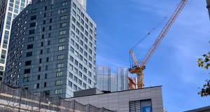 9 Dekalb construction over City Point
