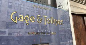Gage & Tollner Window