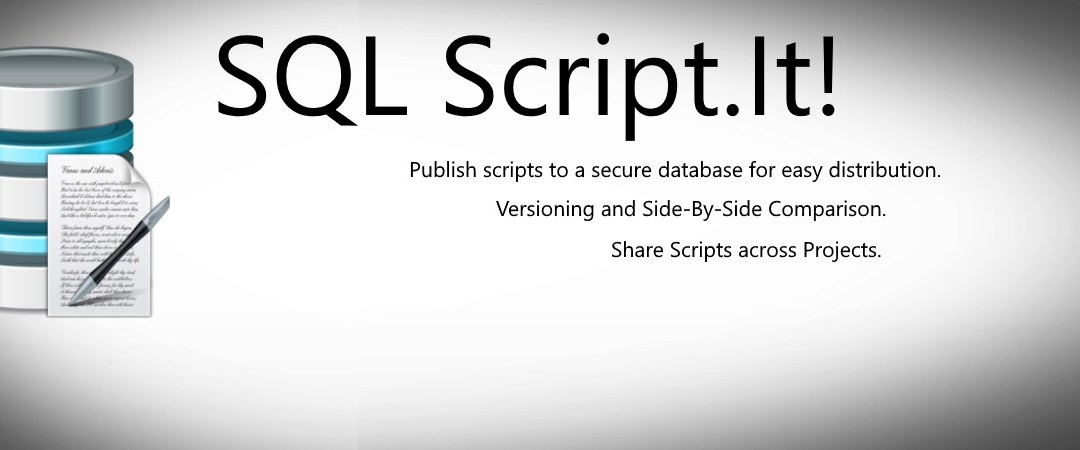 SQL Script.It! A scripting tool for application developers.