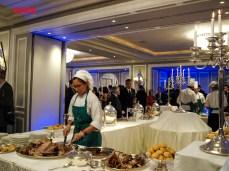 Banquete de la celebración del Día de la Independencia de Kazajstán.