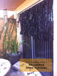 :: Creepy Halloween Drape Curtains :: Unique Halloween ...