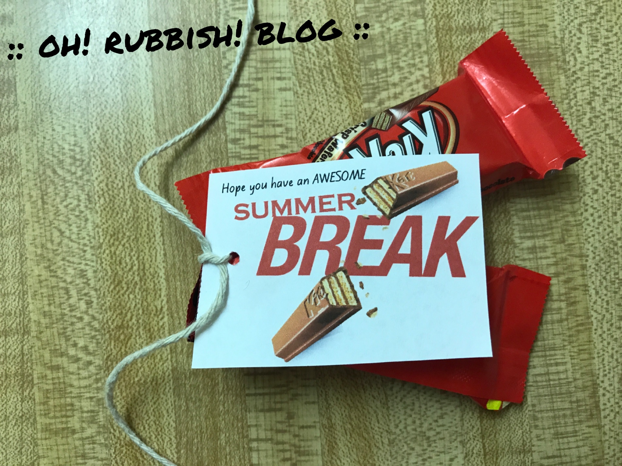 picture about You Deserve a Break Printable named Printable Trainer Your self Have earned A Split Package Kat - 12 months of