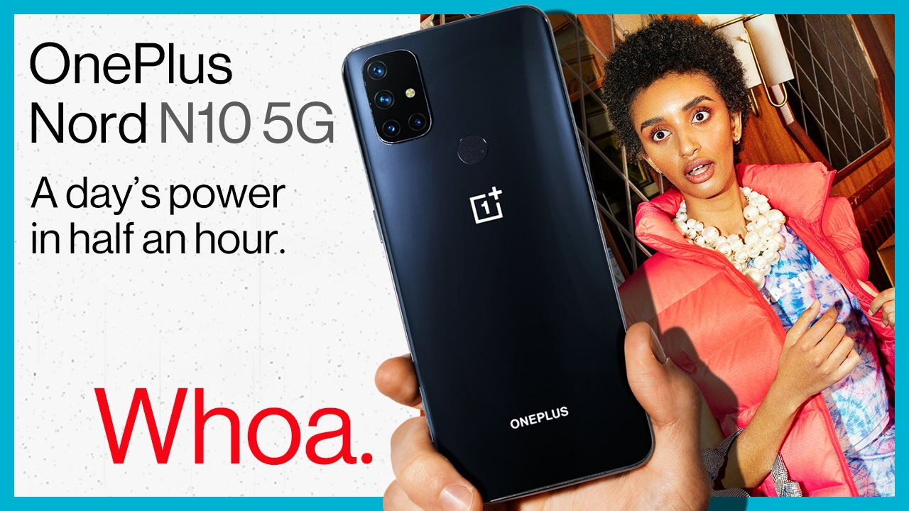 Unleash The Power of 5G With OnePlus Nord N10 5G