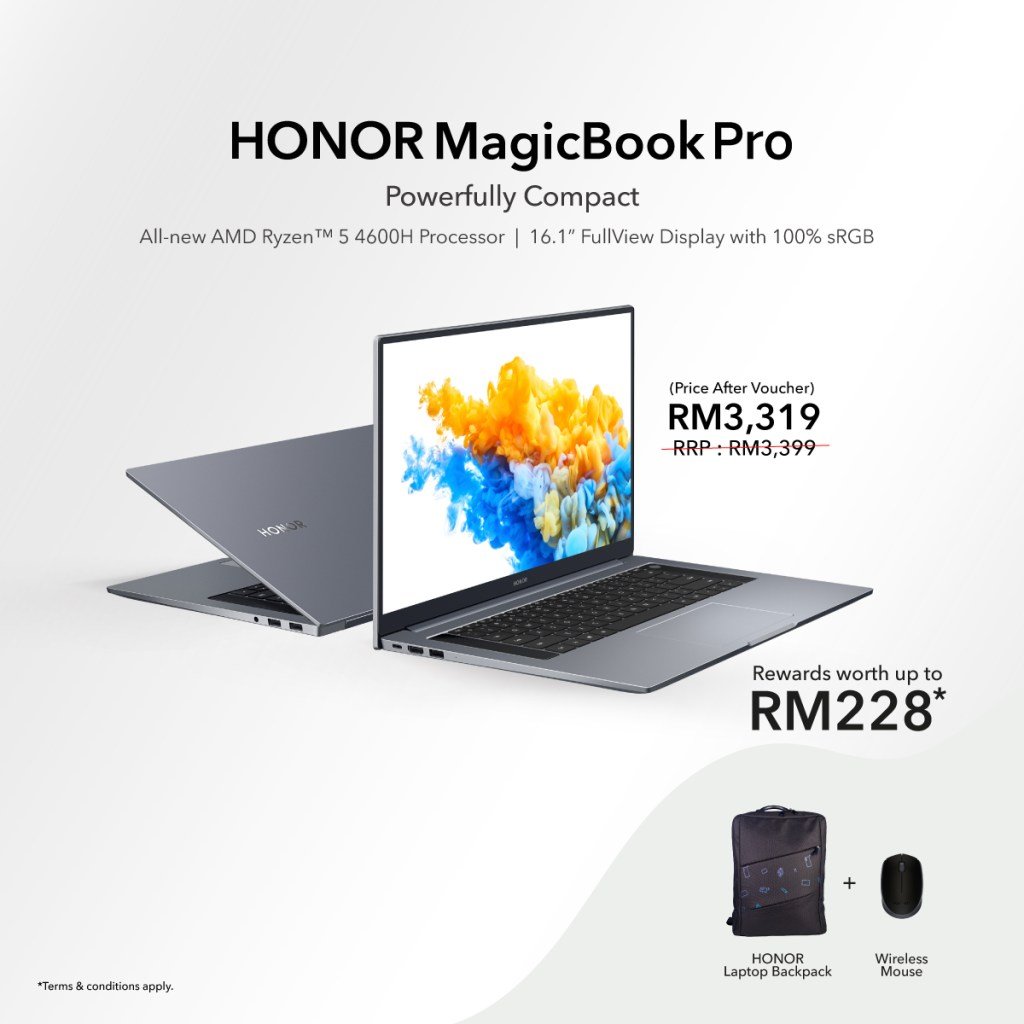 HONOR Malaysia's Mid Year Sale Starts From 6th June Till 30th June 2021