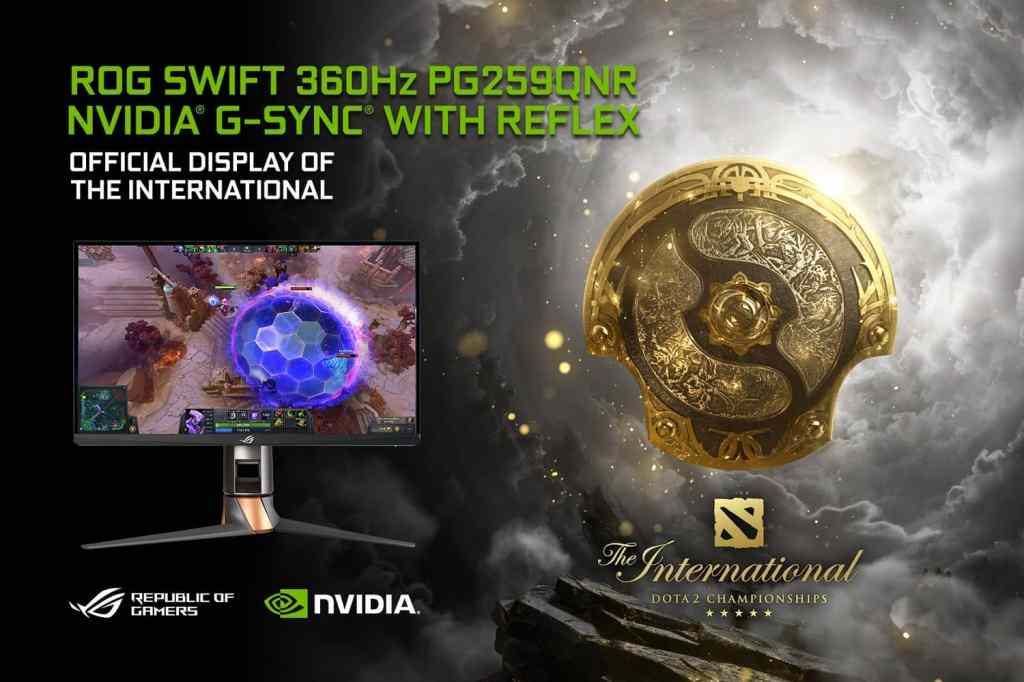 ASUS ROG Swift 360 Hz with NVIDIA G-SYNC