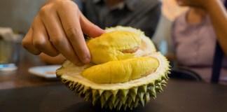 petua hilangkan bau durian