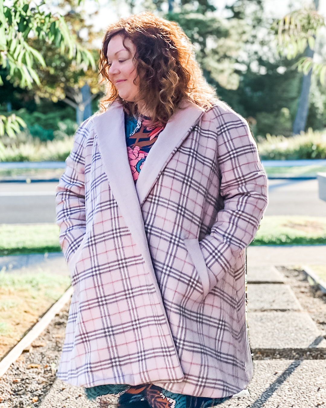 Image of @ Oh sew fearless wearing the new Opium coat