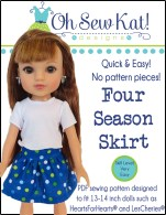 Sewing patterns for dolls wellie wishers 18 inch dolls hearts for hearts animators