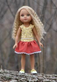 Four Season Skirt pattern free on Craftsy.