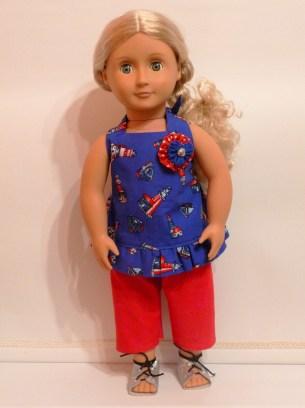 Boardwalk Boutique pattern by Oh Sew Kat sewn by Jenny Swan 2