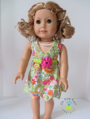 Sewing patterns for dolls by Oh sew kat