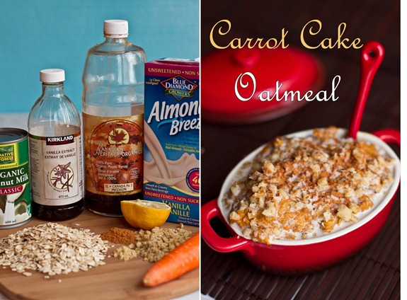 IMG 6612b thumb   Holiday Breakfast In A Jiffy: Carrot Cake Oatmeal