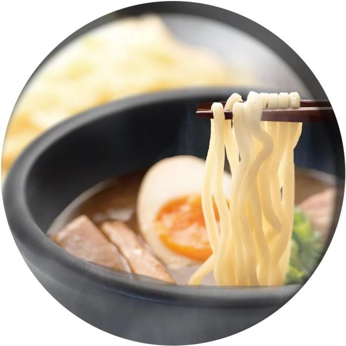 IH調理対応メニュー つけ麺